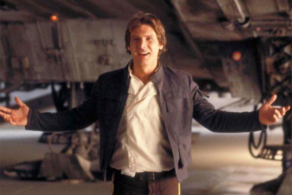 ¡No se preocupen, soy Han Solo!