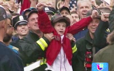 Tributo a las víctimas del Maratón de Boston a un año del atentado