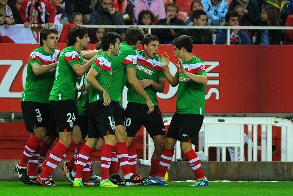 Los 'Leones' vascos se adelantaron en el marcador gracias a Andoni Iraola.