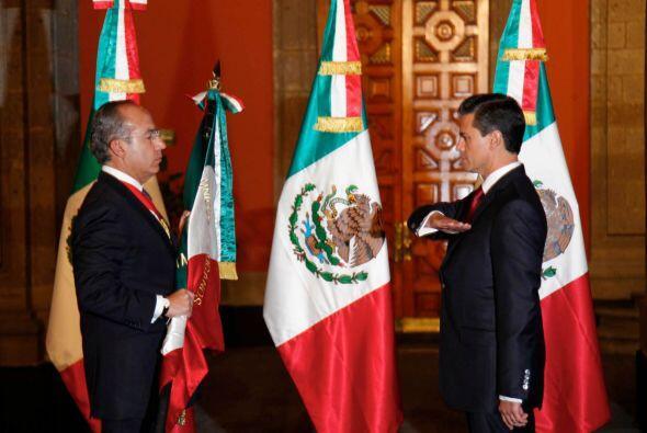 Pese a eso, Peña Nieto fue nombrado: Presidente electo y sucedió a Felip...