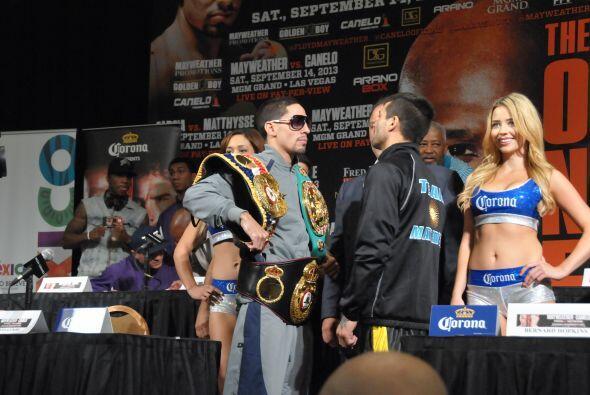 Las peleas co estelares de la cartelera Maywetaher vs. Saúl Alvarez han...