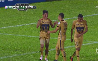 Ridículo gol de Pumas para sellar la goleada sobre W Connection