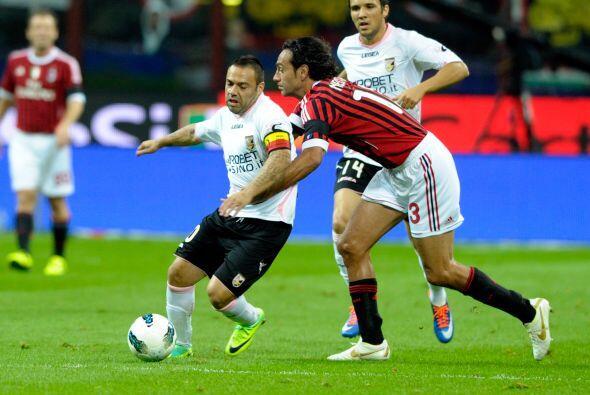 El Milan goleó derrotó al Palermo por 3 a 0 en una noche m...