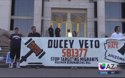 Rechazo a propuesta de ley antiinmigrante SB 1377