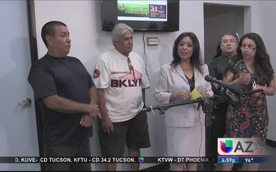 Líderes informan a la comunidad sobre el asesino de Maryvale
