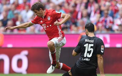 Bayern Múnich vs. Colonia