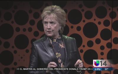 Hillary Clinton da importante mensaje a mujeres en San Francisco