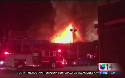 Demanda interpuesta por familiares de víctimas del incendio en la bodega...