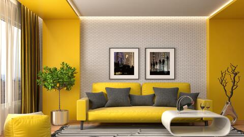 Decoración amarillo