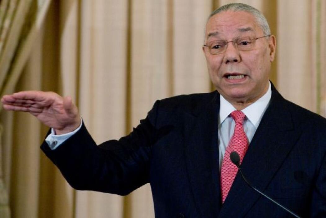 Año 2003  9. Collin Powell: Armas de destrucción masiva en Irak  En argu...
