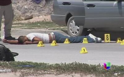 Disminuyen homicidios en México