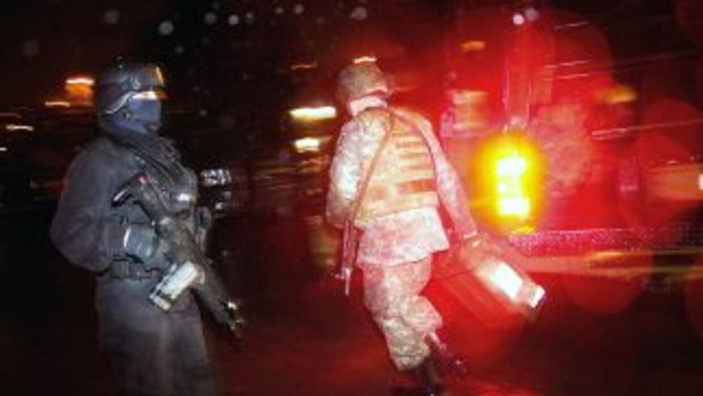 El tiroteo contra los presuntos narcos ocurrió en el municipio de Valle...