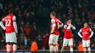 Los 'Gunners' dejaron escapar los tres puntos justo antes del final del...