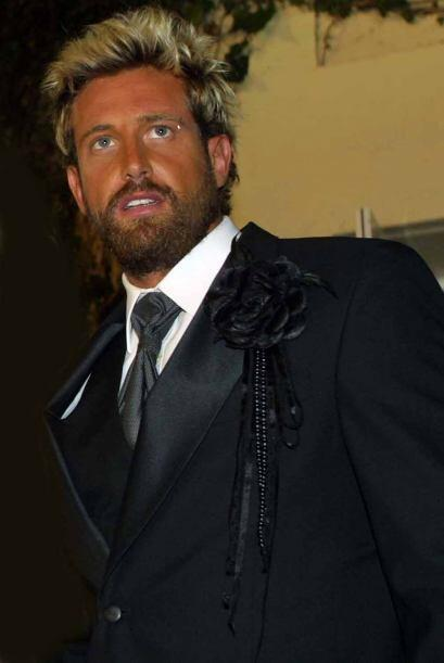 Gabriel Soto ya tenía su característico bronceado en 2002.