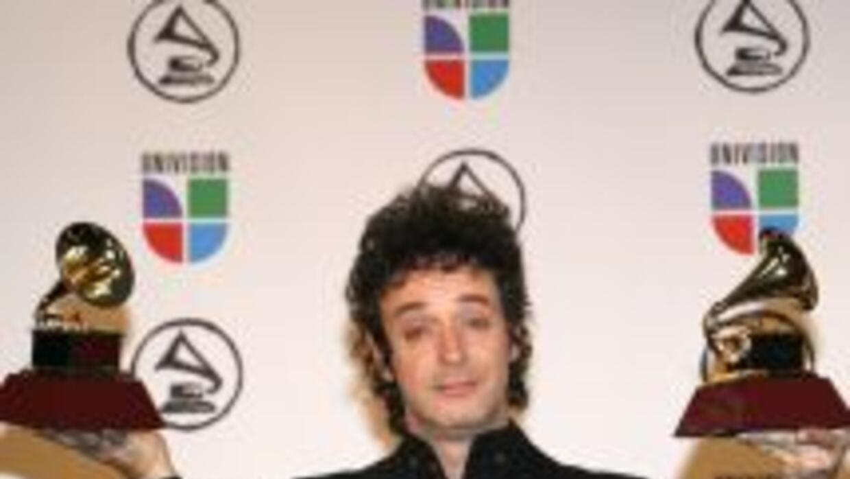 Gustavo Cerati ganó a lo largo de su carrera seis premios Latin GRAMMY.