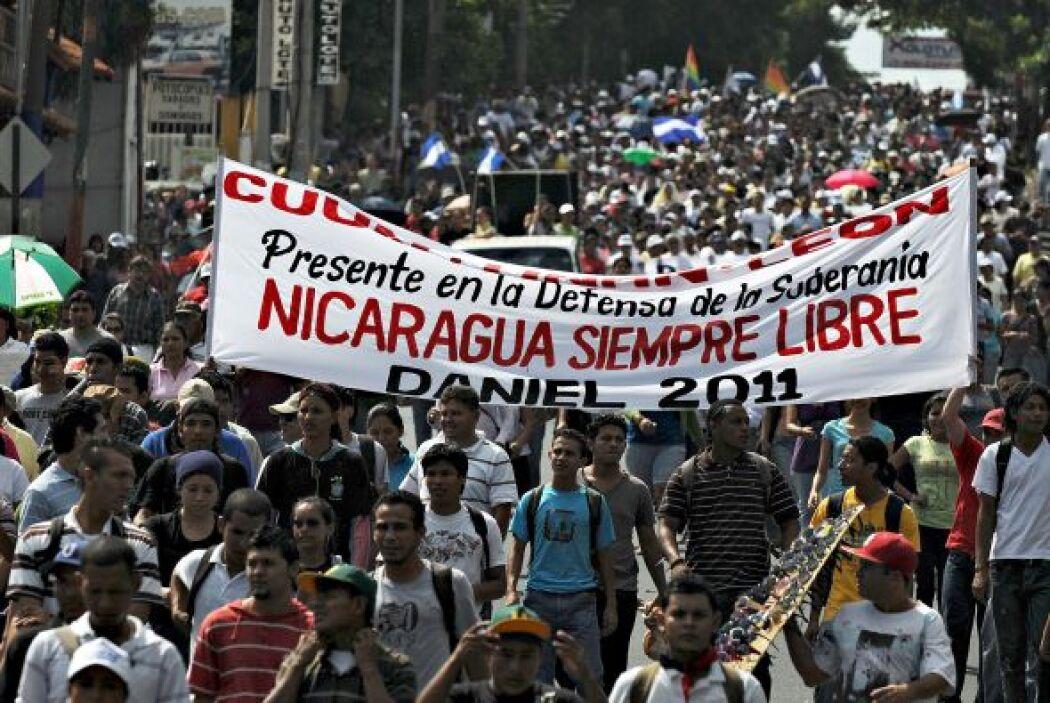 La marcha comenzó en los alrededores de la capitalina Universidad Nacion...