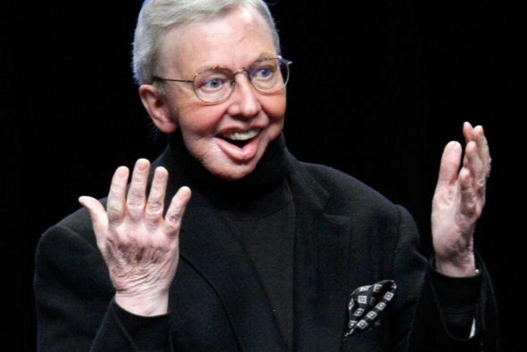 Roger Ebert, el crítico de cine, tras su cirugía.