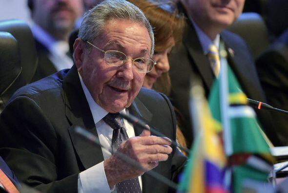 El presidente cubano, Raúl Castro, dio un largo discurso que rompe con a...
