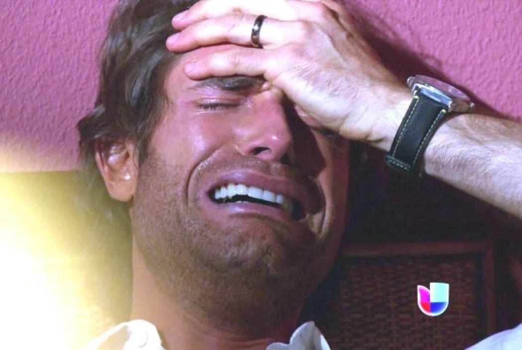 Él terminó llorando como Magdalena.