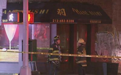 Más de 100 bomberos atendieron una emergencia por incendio en Murray Hil...
