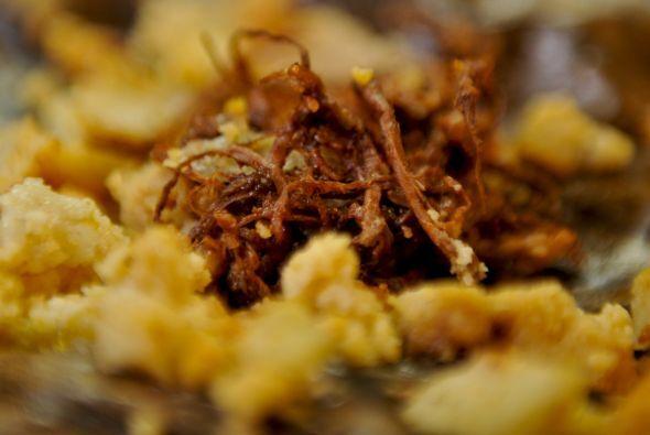 Tamales de gallina: Los tamales son un plato típico precolombino, origin...