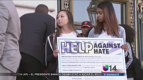 Autoridades buscan combatir los crímenes de odio en San Francisco