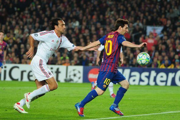 Apenas comenzó el juego, Lionel Messi y los 'blaugranas' mostraro...