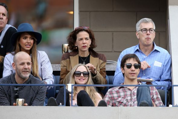 Varios famosos fueron a ver la final de hombres entre Rafael Nadal y Nov...