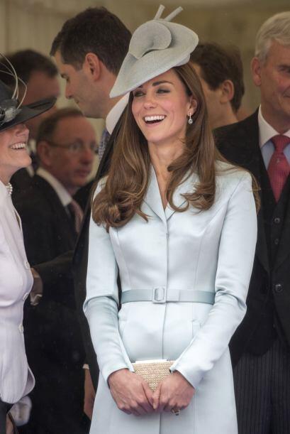 Kate también recuperó su espigada figura en unos cuantos d...