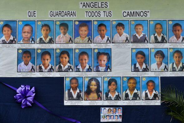Treinta y tres niños murieron en el trágico incendio de un...