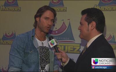 """Sebastián Rulli conquista Chicago y habla del final de """"Tres Veces Ana"""""""