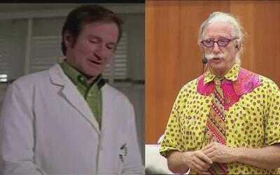 Patch Adams se niega a hablar de Robin Williams