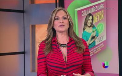 """Cecilia Ramírez Harris lanzó su libro """"El diario de mi Detox"""""""
