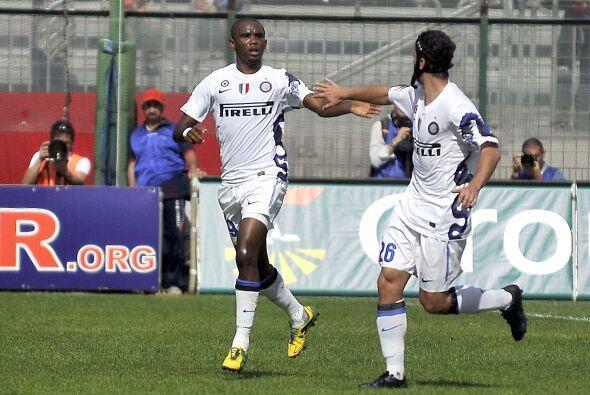 Ese tanto fue suficiente para que el Inter se llevara los tres puntos.