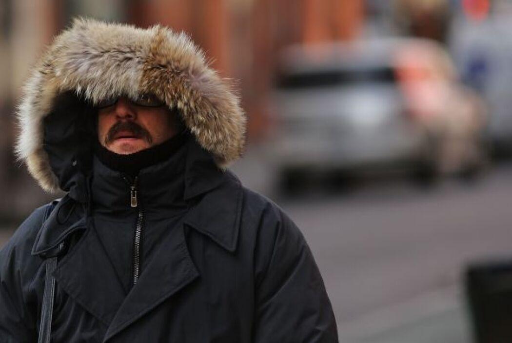 Una ola de frío azota desde el sábado el norte de Estados Unidos, causan...