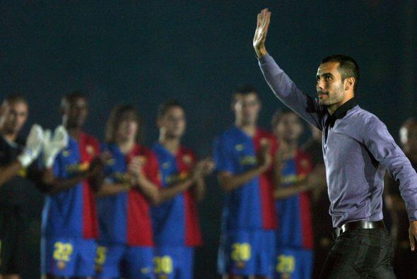 Aquel clásico lo ganó el Barcelona 2 a 0 en Diciembre del 2008.