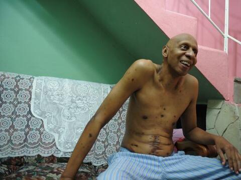 El disidente cubano Guillermo Fariñas, que acumula en su historia...