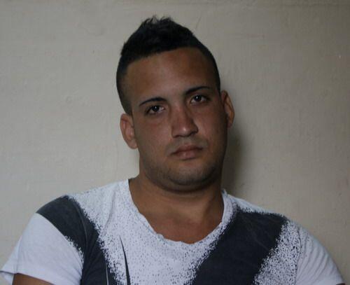 Miguel Alberto Ulloa en la foto.  En el operativo policial en Coj&iacute...