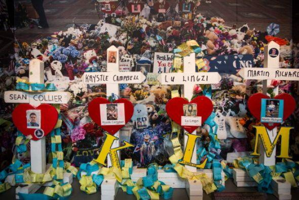 Donde el 15 de abril del año pasado Tamerlán y Dzhokar Tsarnaev colocaro...