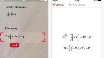 Resuelve ecuaciones, problemas de aritmética, quebrados, logaritmos y cá...