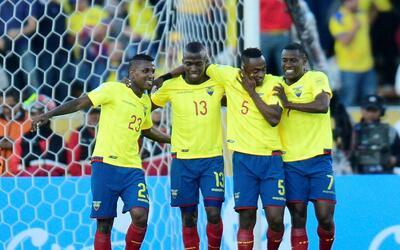 Ecuador derrotó 3-0 a Venezuela