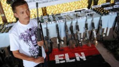 Siete rebeldes del Ejército de Liberación Nacional (ELN) murieron en un...