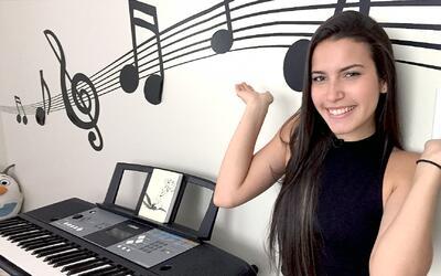 Zhamira: 'Se me fue un gran peso al pasar a los en vivo de La Banda'