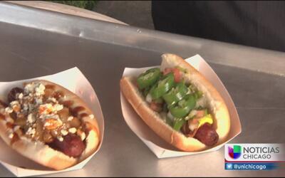 Auri te tiene una probadita de lo que trae el Hot Dog Festival de Chicago