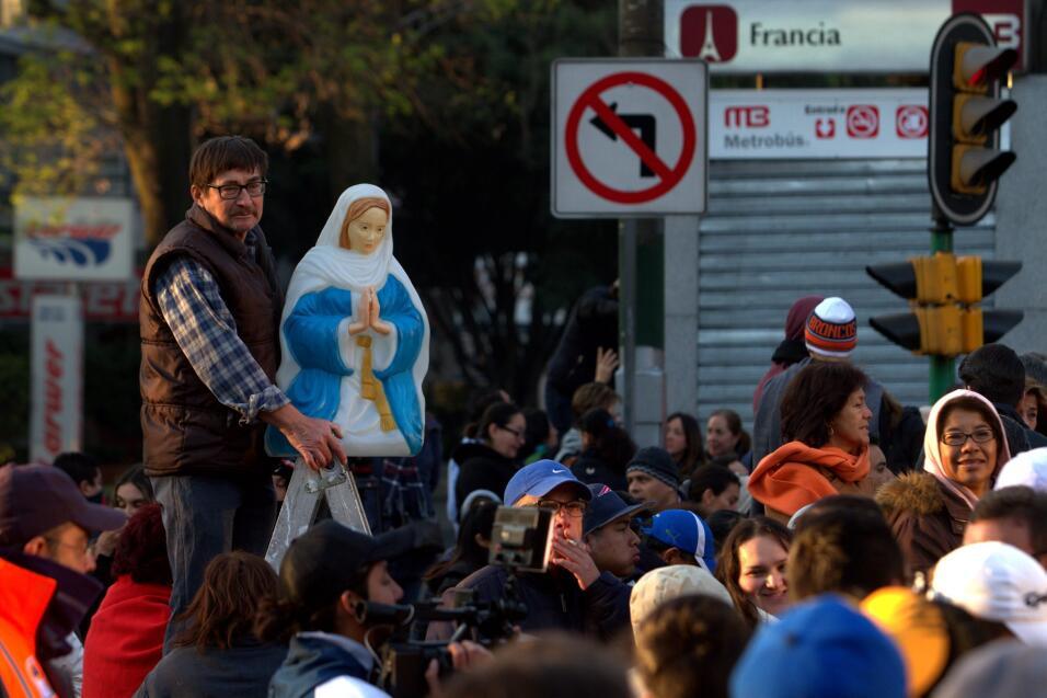 El papa Francisco en Ecatepec