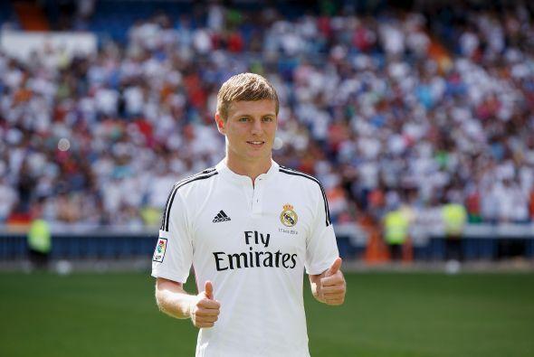 El alemán Toni Kroos dejó al Bayern Munich para fichar con el Real Madri...