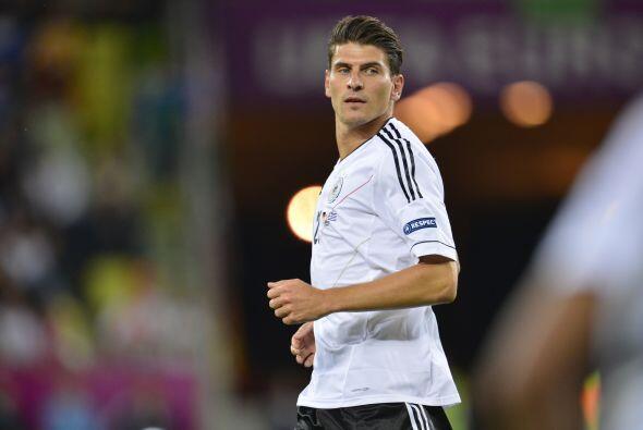 Mario Gómez del Bayern Munich. Otro jugador que ya ha sido vincul...