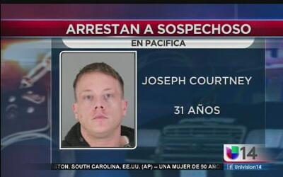Arrestan a sospechoso de abuso sexual en San Mateo