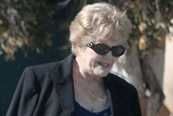 La señora falleció el 19 de febrero en Santa Monica, California, a los 8...