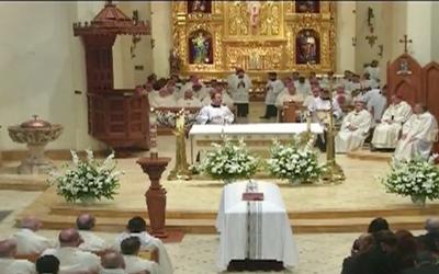 Archbishop Patrick Flores Funeral at San Fernando Catherdral
